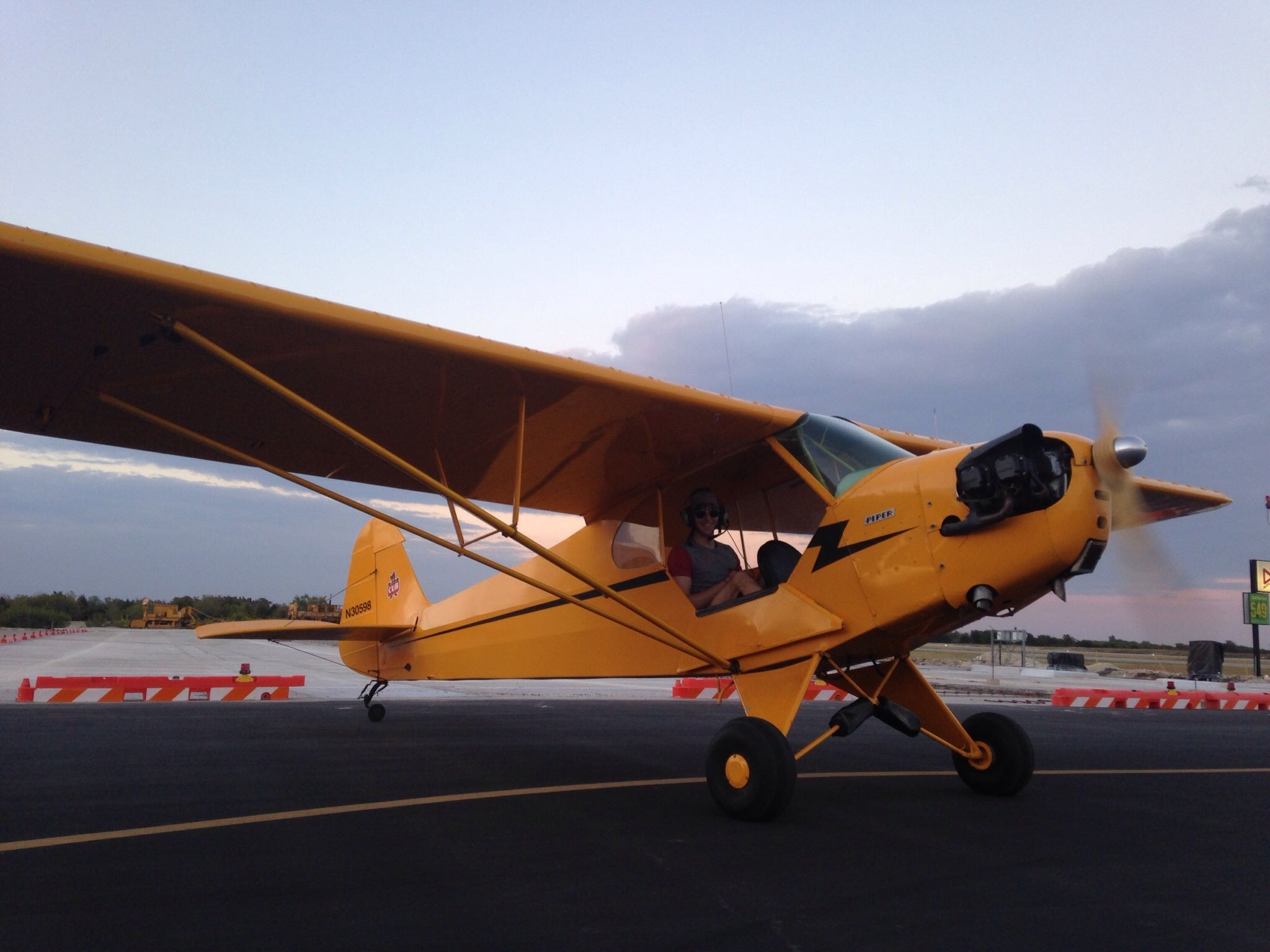 Please Contact us to arrange rental or flights in our Piper J3 Cub